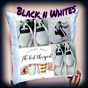 Classic Updated Black/white leather Saddle Shoes